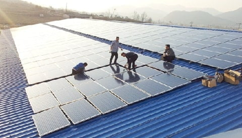 100kW Solar Power System Picture, Price & Detail