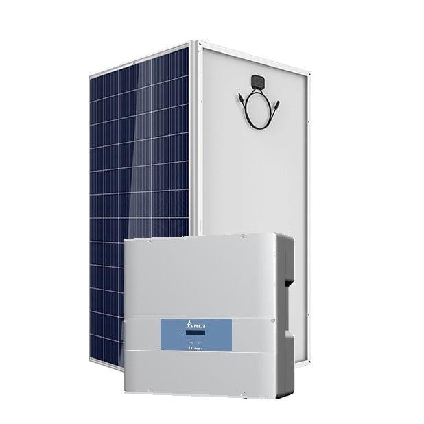 10kw On Grid Solar System Delta Vikram Kenbrook Solar