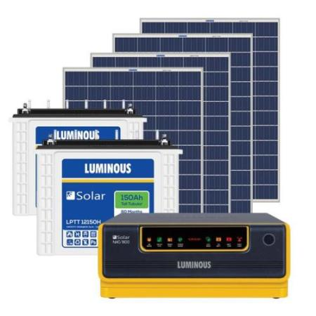 1kW Luminous Solar Off-Grid Complete System 1500VA