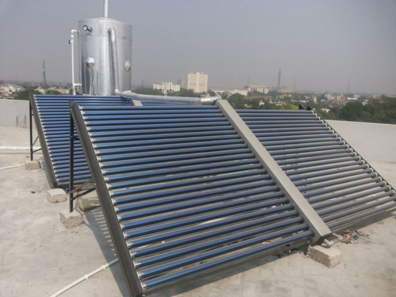 1000 liter solar water heater tube type ETC