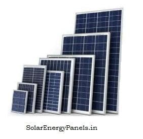 10w 20w 40w 50w Solar Panels Pic