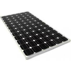 160w solar panel photo