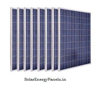 75w 80w 100w Solar Panels Pic