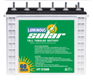 Luminous Solar Batteries Price List