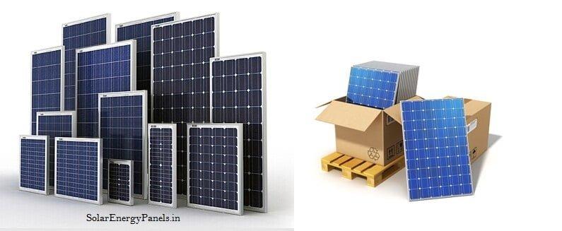 Solar Panels 3w-300w