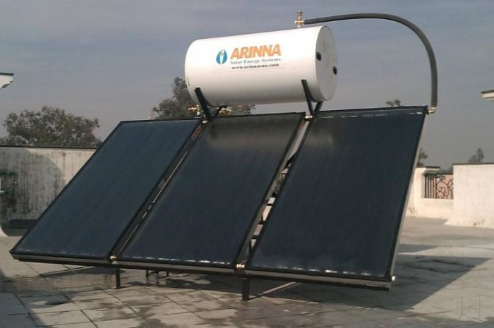 Solar water heaters new price list in india kenbrook solar solar water heater 100 200 300 500 litters sciox Images