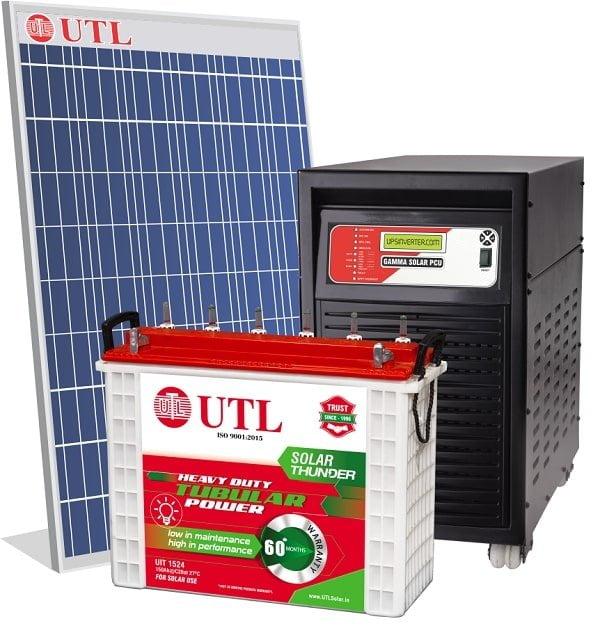 Utl Off Grid Solar System Price In India Sept 2020 Kenbrook Solar