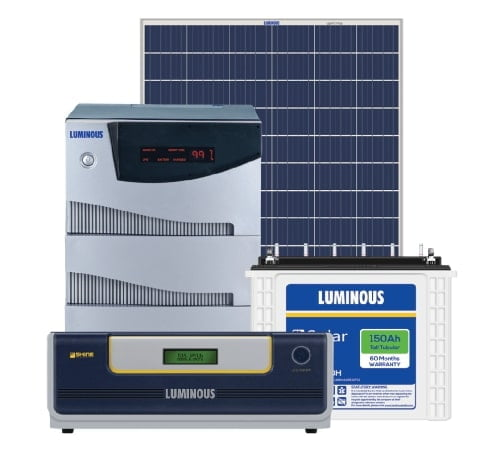 5kw Luminous Solar Off Grid System 5 5kva Kenbrook Solar