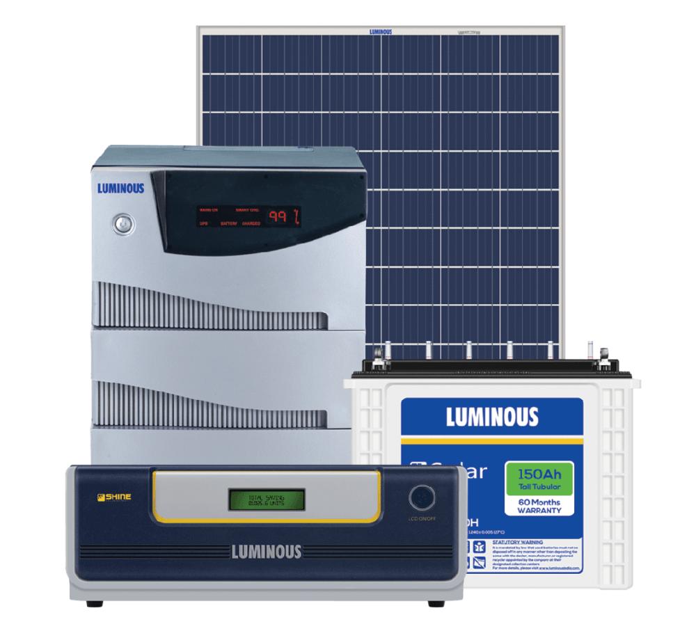 7 5kw Luminous Solar Off Grid System 7 5kva Kenbrook Solar