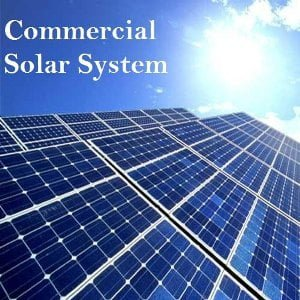 Commercial Rooftop Solar Systems 20kw to 100kW