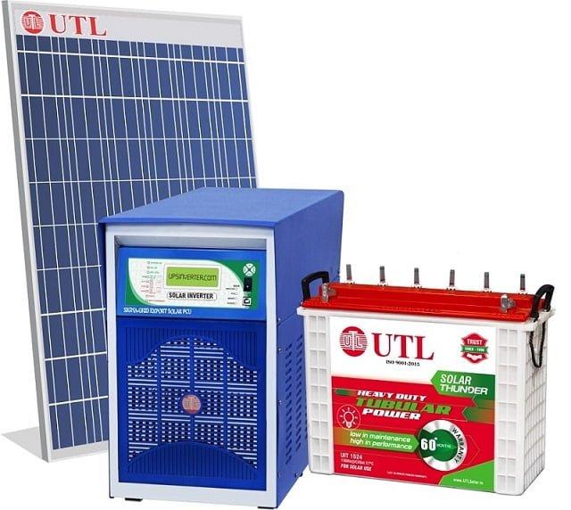 Utl Solar Hybrid System Price In India Sept 2020 Kenbrook Solar
