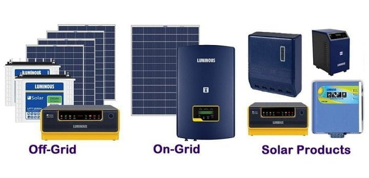 Luminous Solar Panel Price: Buy All Luminous Solar Product at Best Price