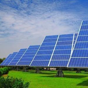 Solar power plant 1mw price large scale solar system grount mounted