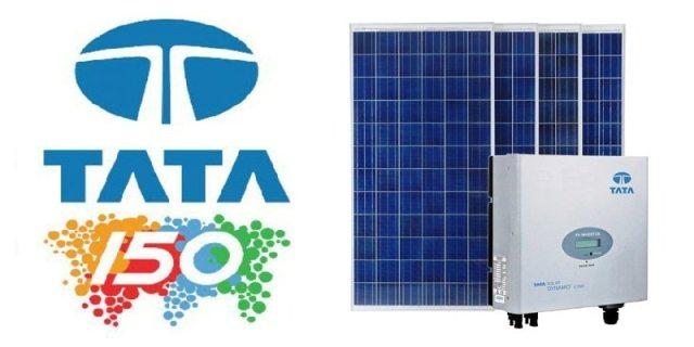 TATA Solar Panel Price: Buy Tata Solar Panel at Rs  33/w - Kenbrook