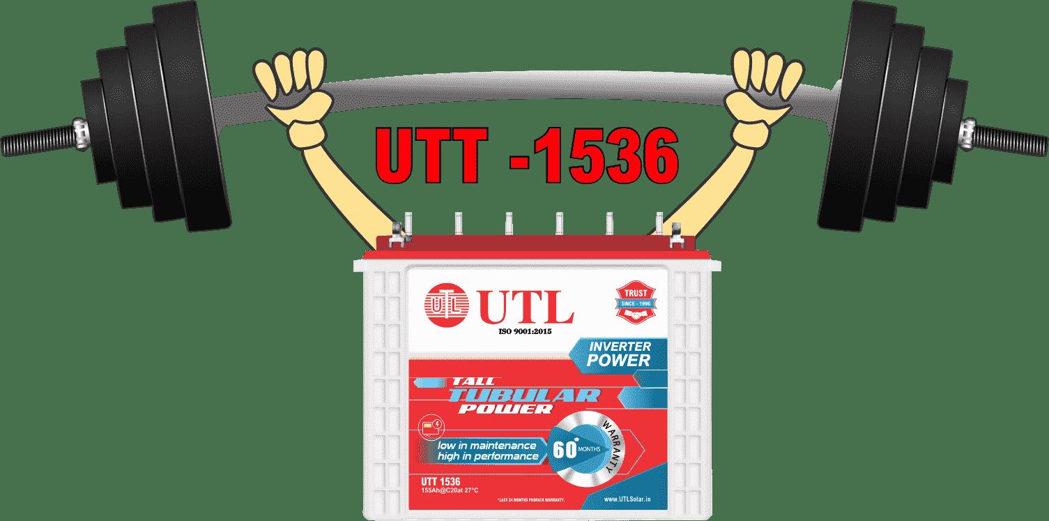 UTL Solar Power Battery