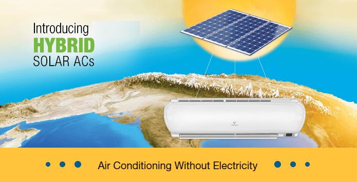 Solar Air Conditioner Working Amp Price India Kenbrook Solar